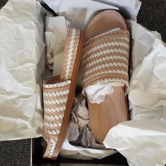 Sigerson Morrison Shoes - Sigerson Morrison Smaoven White Blushio Sandal
